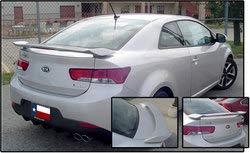 Unpainted 2010-2013 Kia Forte Coupe Spoiler Custom Style, -