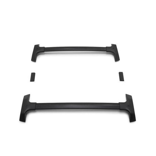 Genuine GM 19243901 T-Slot Roof Rack Cross Rail Package, Black (Cross Bars Chevy Traverse)