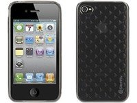 Griffin Technology Motif for iPhone 4 - Diamonds - Smoke