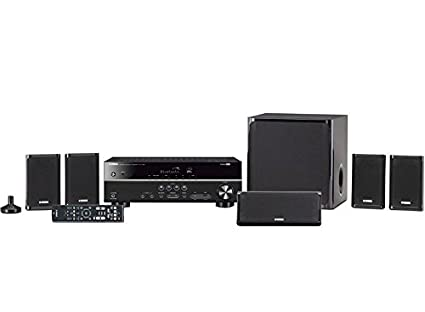 771d743f2e7 Yamaha YHT-4930UBL 5.1-Channel Home Theater in a Box System with Bluetooth