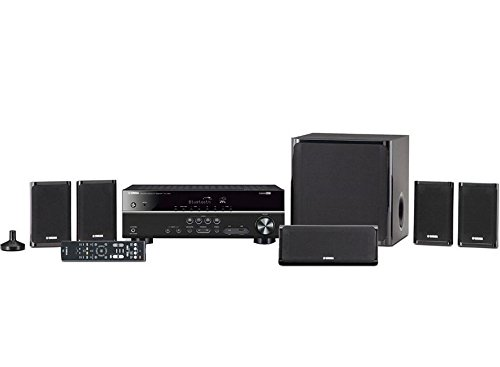 Yamaha YHT-4930UBL  5.1-Channel Home Theater in a Box System with Bluetooth (Best Yamaha Home Theater Receiver)