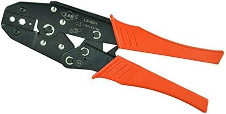 ケーブルカッター 手動圧着ペンチ 6.5/5.4/1.72mm² 光ファイバーケーブル 圧着プライヤー用 同軸圧着工具 手動ケーブルカッター