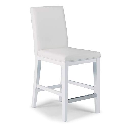Linear White Counter Stool by Home - Styles Home Stool Counter