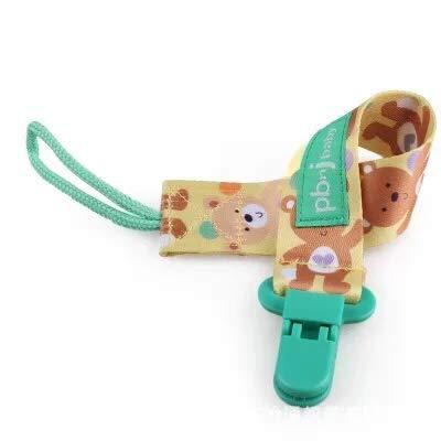 Clips de chupete 5 piezas Soporte de chupete para ni/ñas y ni/ños Se adapta a la mayor/ía de los estilos de chupetes y juguetes para la dentici/ón y regalo para la ducha del beb/é