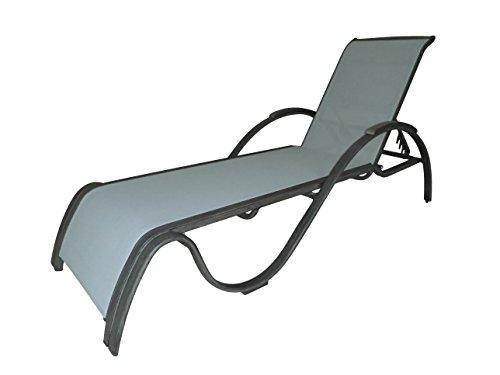 Sling Chaise Lounge Amazon: Panama Jack PJO-1501-GRY-CL Newport Beach Chaise Lounge
