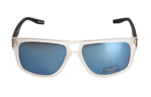 Hickmann T-Charge Plastic Frame Men Sunglasses,Polarized (Matte - Charge T Sunglasses