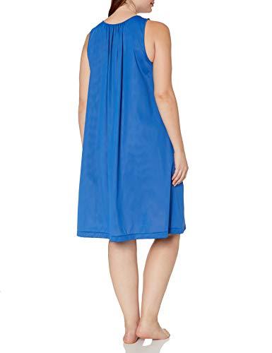 thumbnail 9 - Shadowline-Women-039-s-Plus-Size-Petals-40-Inch-Sleeve-Choose-SZ-color