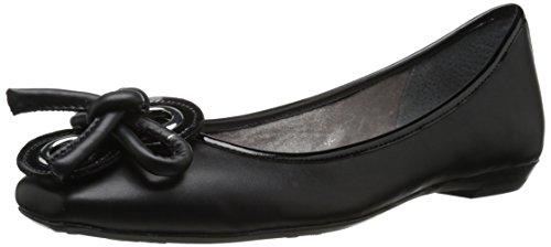 J.renee Womens Edie Ballet Flat Black
