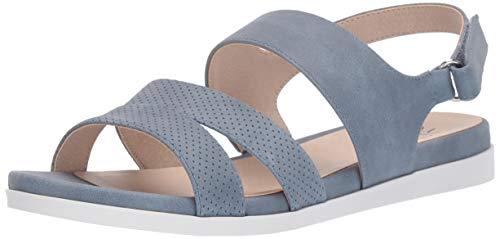 LifeStride Women's Ashley 2 Flat Sandal Blue 10 M US ()