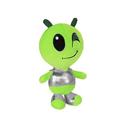 18.5 18.5 RetailSource Ltd 4-701-Blu Blue ToySource Blue Comet The Space Alien 18.5 Plush Collectible Toy