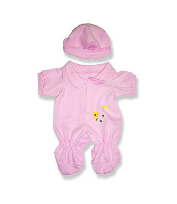 """Baby Girl Outfit Teddy Bear Clothes Fits Most 14"""" - 18"""" B..."""