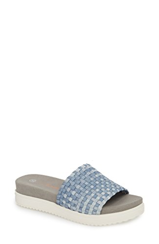 フィードバック理容師典型的な[バーニーメブ] レディース サンダル bernie mev. Capri Slide Sandal (Women) [並行輸入品]