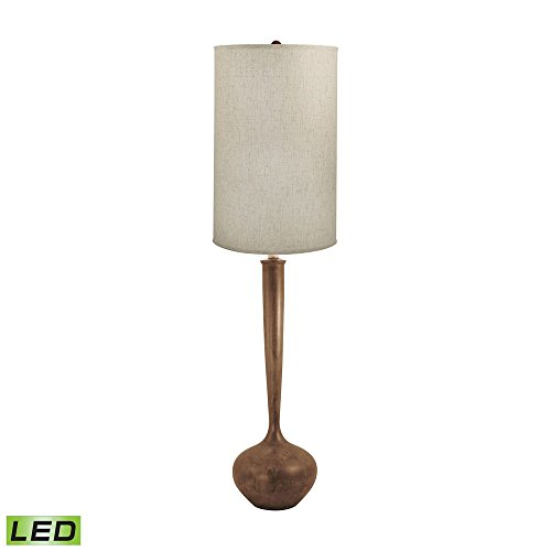 - Diamond Lighting 444-LED Floor lamp, Wood Tone