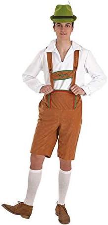 Creaciones Llopis Disfraz de Tirolés Marrón para Hombre: Amazon.es ...