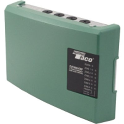 ZVC TACO 6 ZONE VALVE CONTROL WITH HOT WATER HEATING SYSTEM CIRCULATOR PUMP RELAY AND TRANSFORMER (Heating Circulator)