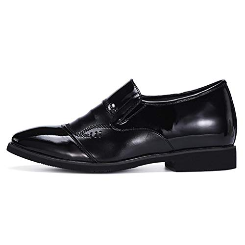 Uomo E Formal Autunno Scarpa Black Guida Primavera Mocassini Traspirante Guida Casual Comfort Slip In Evening Pelle Business Scarpe Da Work Party amp; Da Oxfords qxSRp0tS
