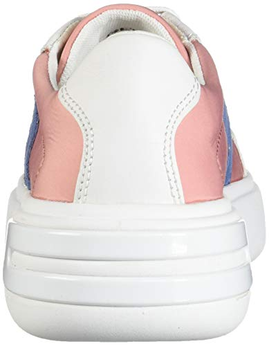 Geox Femme C7204 Ottaya F D Rose coral Basses Sneakers white vqvZR