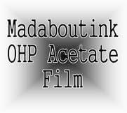 A4 Ohp Acetato Film de Transparencia para Impresoras Inkjet 20 Hojas: Amazon.es: Hogar