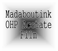 A4 Ohp Acetato Film de Transparencia para Impresoras Inkjet 20 ...