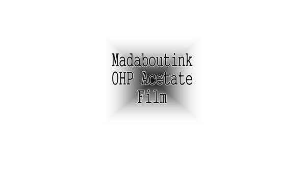A4 OHP Acetato Transparencia Film Para Las Impresoras De Inyección ...