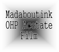 Ohp Transparency (Madaboutink A3 Ohp Acetate Transparency Film For Laser Printers & Copiers 100 Sheets)