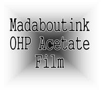 Format A4 pour rétroprojecteur films acétate transparents pour imprimantes je... Madaboutink