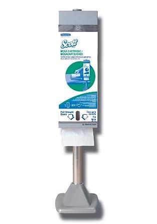 Scott Mega Cartridge Napkin Box (98908), Disposable Paper Napkins, 6 Cartons of 875 Beverage Napkins (5,250 Napkins / Case)