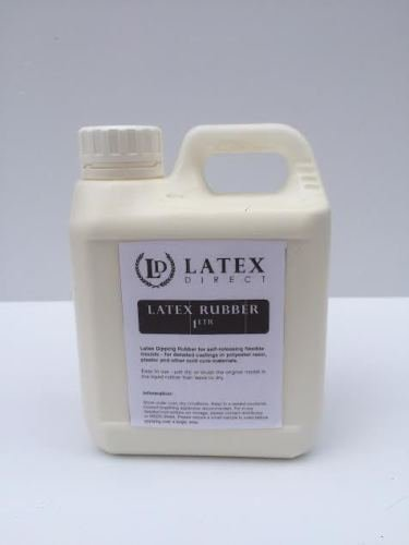 1 litre Liquid Latex Rubber Moulding/ Dipping /casting /SFX Latex Direct