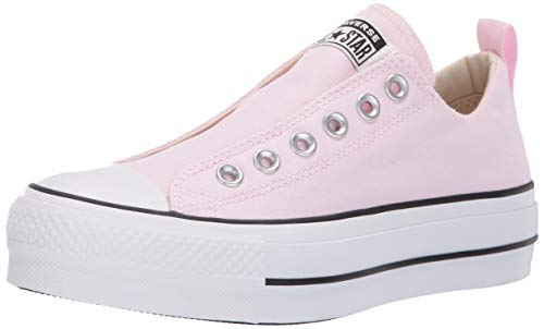 - Converse Women's Chuck Taylor All Star Lift Slip Sneaker, Pink/Black/White 7 M US
