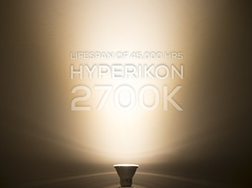 From us hyperikon par20 led bulb dimmable 8w 50w for Living room 2700k or 3000k