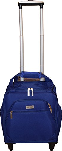 New York Chocolate Travel 18 Inch Carry-On Wheeled Luggage (Blue) by New York Chocolate Travel (Image #1)