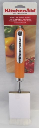 KitchenAid Tangerine Orange Basting Brush