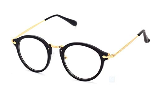 Firmoo Vintage Oversized Thick Glasses with Clear Lens Designed Eyewear Glasses Frame Unisex
