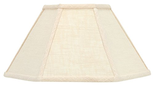 Shade Chimney (Upgradelights 12 Inch Chimney Style Oil Lamp Shade Replacement Shade in Beige Linen)