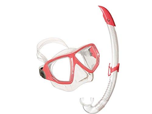 De Esnórquel Y Rojo Oyster Conjunto airflex Máscara Tubo Aqua Lung Sport qtwggT