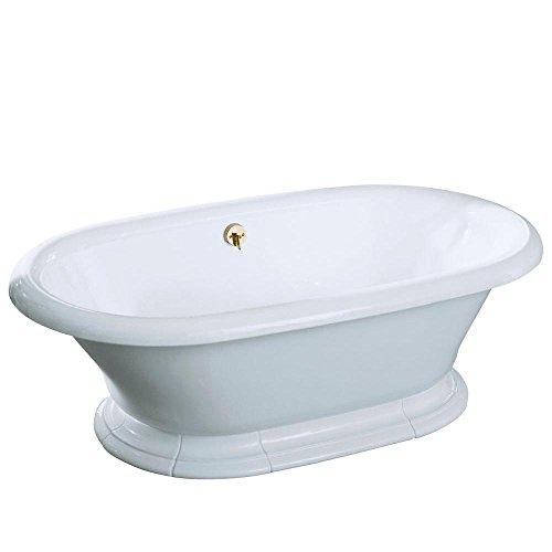 (KOHLER K-700-0 Vintage Bath, White)