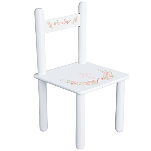 MyBambino Personalized Blush Baptism Theme Childrens Chair by MyBambino