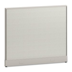 Hon Initiate Office - HON Panel Furniture, 48-Inch by 42-Inch, Salsa/Light Gray