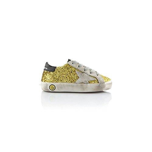 Superstar Kids Sneaker Lime U9 G29KS001 Glitter Golden Goose pnqwCxvtvf
