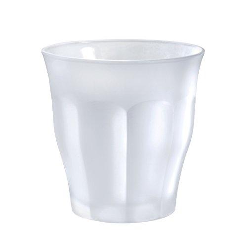Duralex 1027SR06/6 Glass Tumbler, 8.75 oz, Frosted