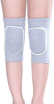 1 Pair Kids Thicken Sponge Padding Breathable Elastic Cotton Knee Compression Sleeve Kneecap Knee Pads Warm Su