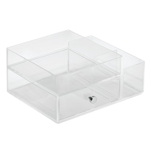31yO Lw9KuL - InterDesign Clarity Cosmetic Organizer for Vanity Cabinet to Hold Makeup