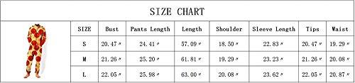 Allentato 3d Piece Albero One Vita 007 Uomo Lunga Huateng Stampa Tuta Homewear Zipper Manica Della Pigiama B7x7tv1wHq