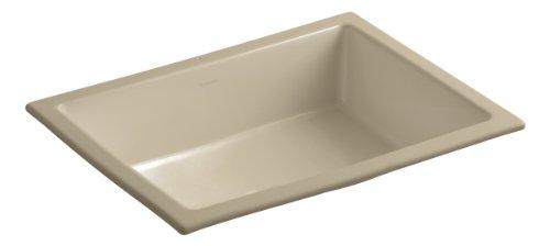 Mexican Sand Shape (KOHLER K-2882-33 Verticyl Rectangle Undercounter Bathroom Sink, Mexican Sand)