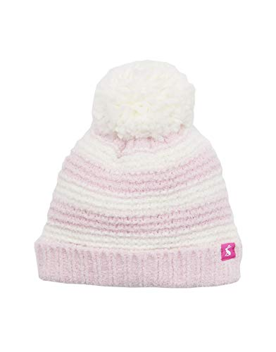 Joules Baby Chenille Hat - Dusk Pink Stripe - 0-6 Months ()