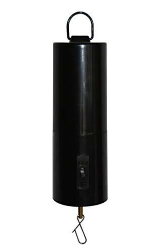 DuBnt Battery Operated Wind Black Rotating Motor Spinner (Electric Wind Chime)