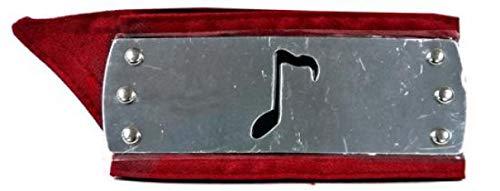 Sound Village Headband - Great Eastern Naruto Sound Village Metal Plated Headband [Red Sash]