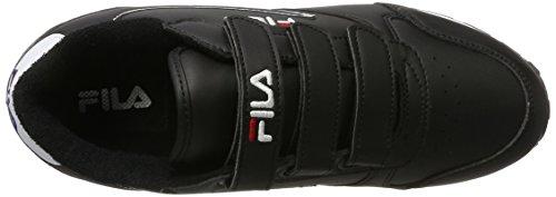 Fila Men Base Orbit Velcro Low - Zapatillas de casa Hombre Schwarz (Black)