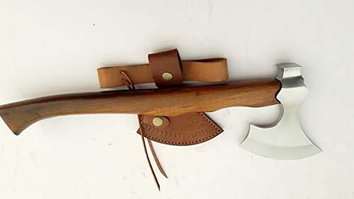 MDM Viking Tomahawk Axe, Custom Hand Made Tomahawk Viking Hatchet Beared