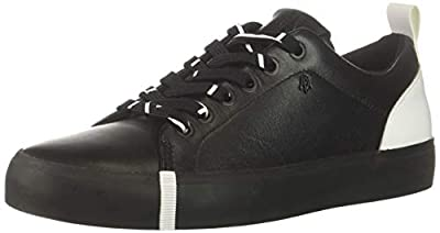 A|X Armani Exchange Women's Eco Leather Low Top Sneaker